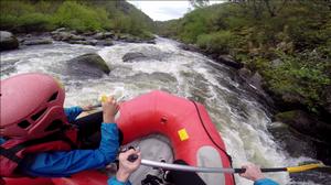 Rafting in de Auvergne