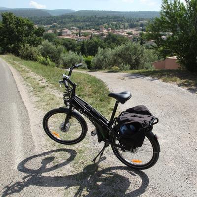E-bike in de Provence