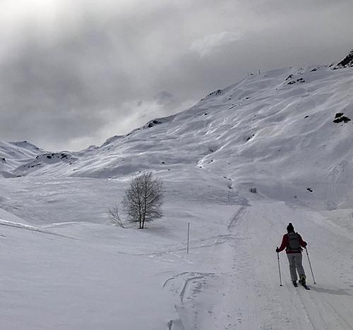 Skiwandelen in Val Thorens