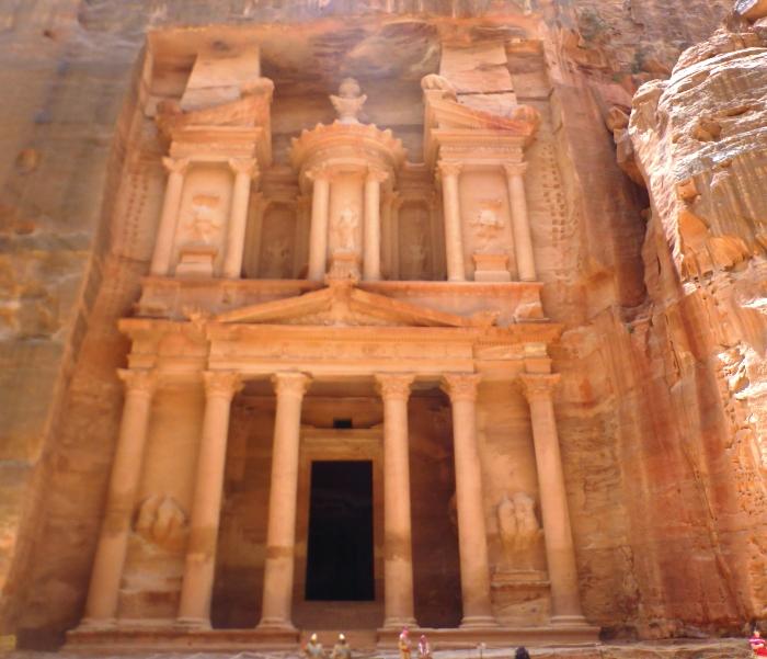 Petra tempel