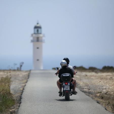 Toeristen op Formentera