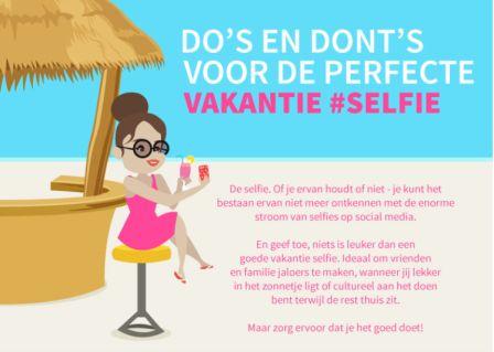 Puur op reis: selfie
