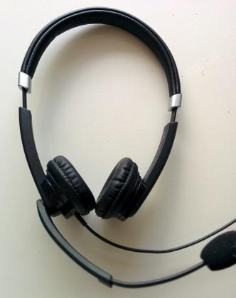 puur op reis: headset