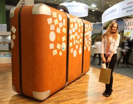 Bijzondere koffer op de ITB 2014