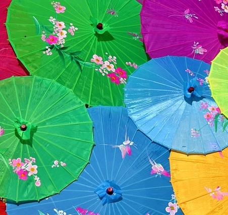 Chinese paraplu's