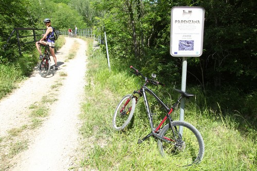 Mountainbiken op de Parenzana