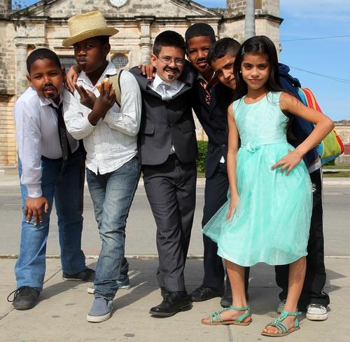 Kinderen in Cuba